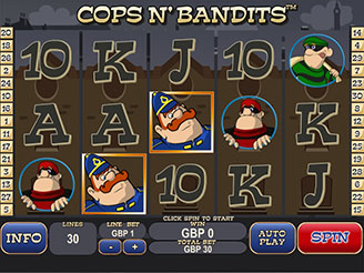 Play Cops N' Bandits Slots Online