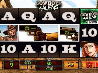 Play Cowboys & Aliens Slots Online