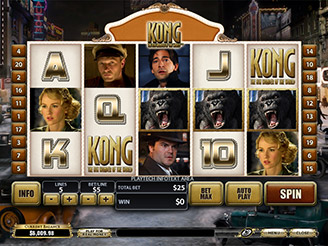 Play Kong The Eighth Wonder of the World Online Pokies