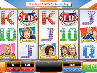Play Little Britain Slots Online