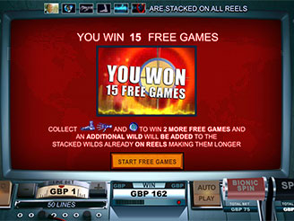 Play The Six Million Dollar Man Online Pokies