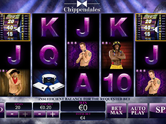 Play Chippendales Slots Online