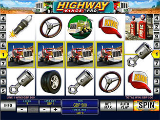 Play Highway Kings Pro Slots Online