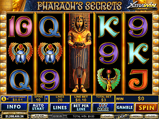 Play Pharaoh's Secrets Slots Online