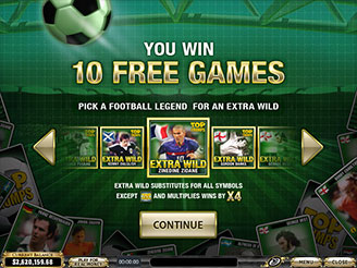 Play Top Trumps Football Legends Slots Online