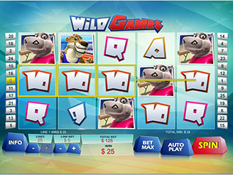 Play Wild Games Online Pokies