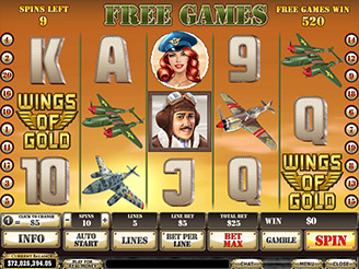 Play Wings of Gold Slots Online