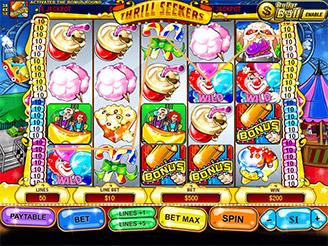 Play Thrill Seekers Slots Online