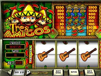 Play Tres Amigos Online Pokies