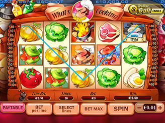 Play What's Cooking Slots Online