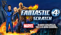 Fantastic 4 Scratch Card