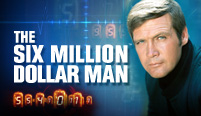 The Six Million Dollar Man Scratch Card