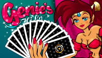 Genie's Hi-Lo Video Poker