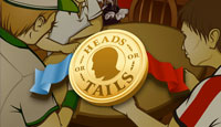 Head's or Tails Arcade Game