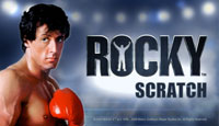 Rocky Scratch Card