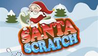 Santa Scratch Card