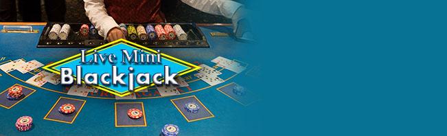 Live Mini Blackjack