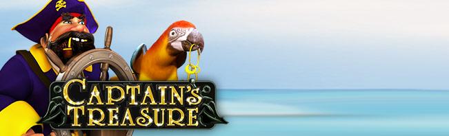 Captain's Treasure Pro Slots