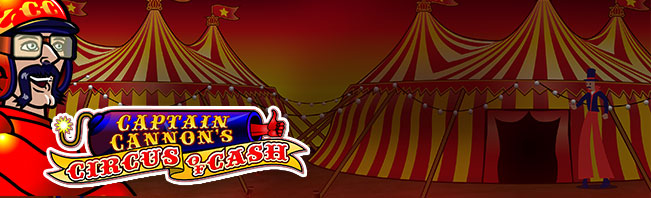 Captain Cannon's Circus of Cash Slots