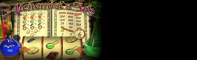 Alchemist's Lab Spielautomaten