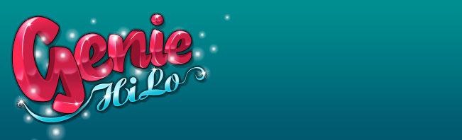 Genie Hi Lo Jackpot Arcade Game