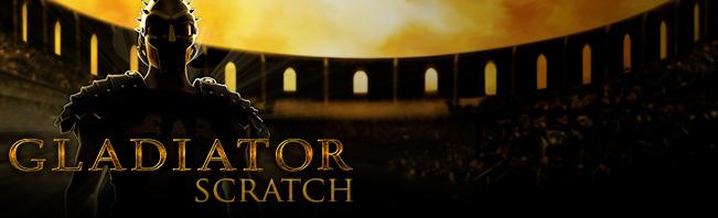 Gladiator Scratch Card