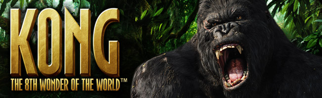 Kong The 8th Wonder of the World Spielautomaten