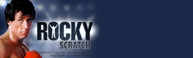 Rocky Scratch Cards