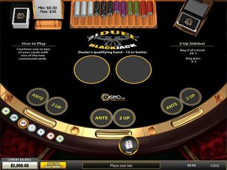 Play 21 Duel Blackjack Online