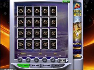 Play 4 Line Deuces Wild Video Poker Online