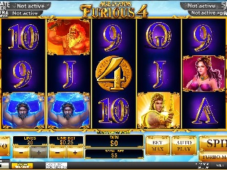 Play Age of the Gods: Furious Four Slots Online