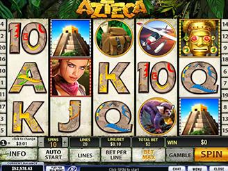 Play Azteca Slots Online