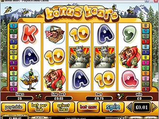 Play Bonus Bears Online Pokies