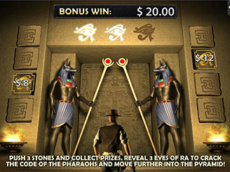 Play Daring Dave & The Eye of Ra Online Pokies