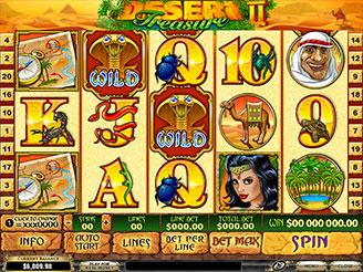 Play Desert Treasure 2 Slots Online