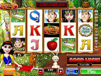 Play Fairest of Them All Slots Online