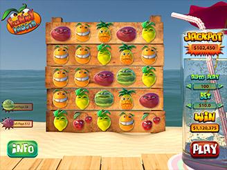 Spielen sie Funky Fruits Spielautomaten Online