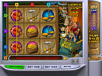 Play Gold Rally Online Pokies
