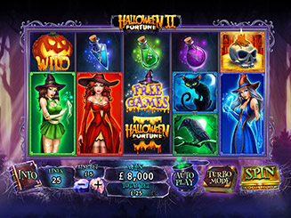 Play Halloween Fortune II Slots Online