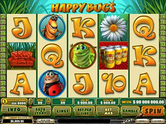 Spielen sie Happy Bugs Spielautomat Online