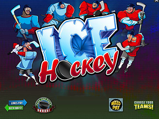 Spielen sie Ice Hockey Spielautomaten Online