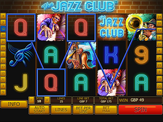Play The Jazz Club  Slots Online