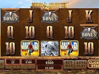 Spielen sie John Wayne Spielautomaten Online