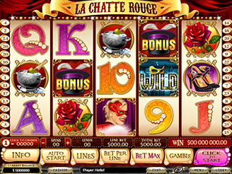 Play La Chatte Rouge Slots Online