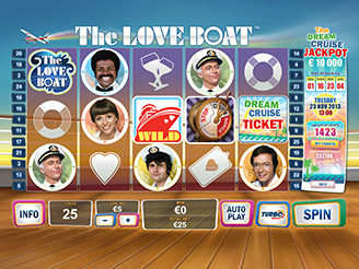 Play The Love Boat Online Pokies