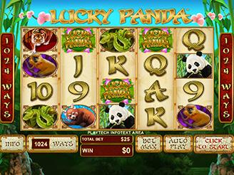 Spielen sie Lucky Panda Spielautomaten Online