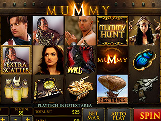Spielen sie The Mummy Spielautomaten Online