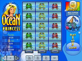 Play Ocean Princess Slots Online