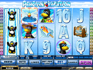 Play Penguin Vacation Online Pokies