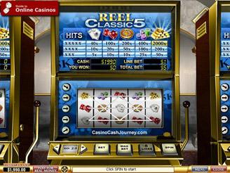 Play Reel Classic 5 Slots Online